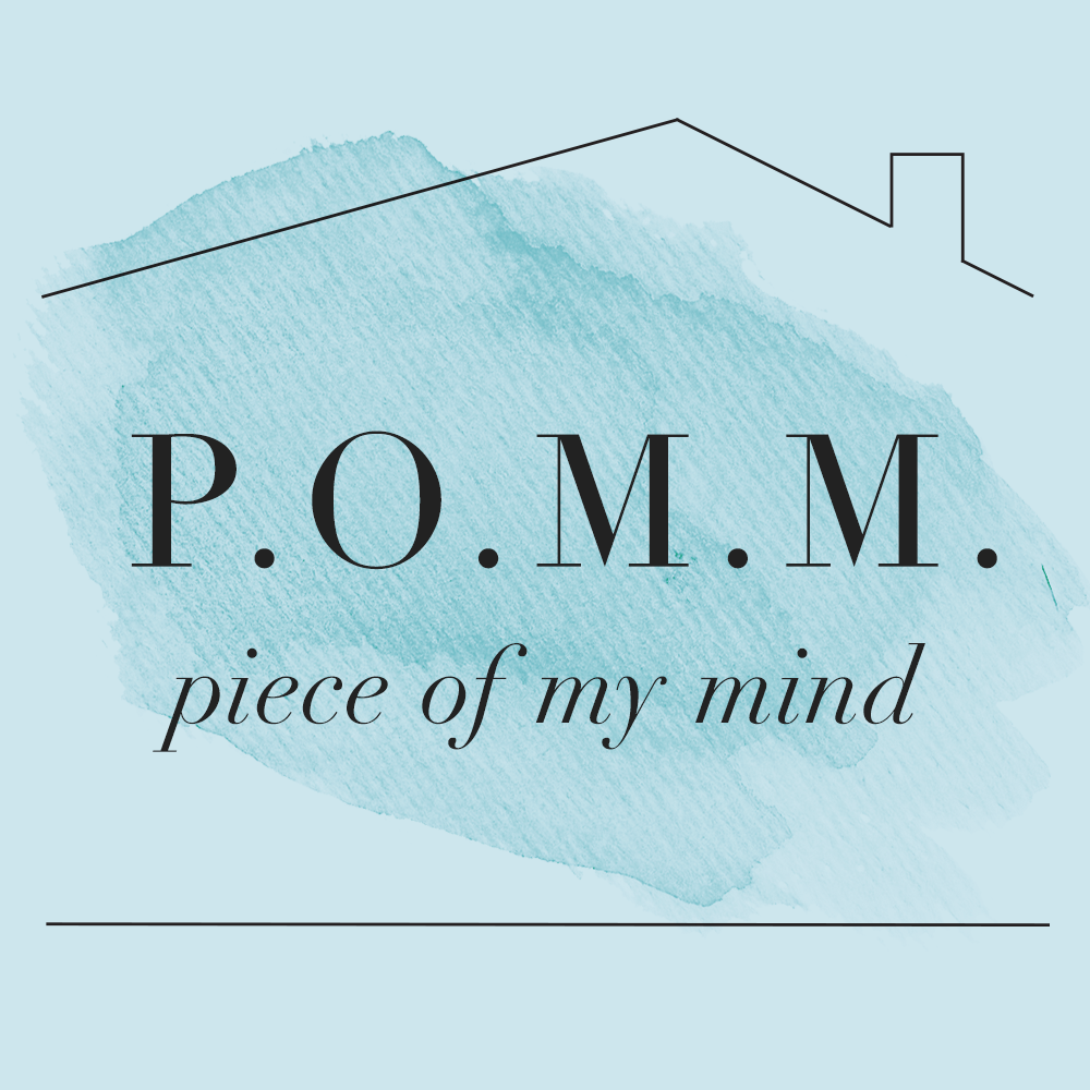 piece of my mind title graphic