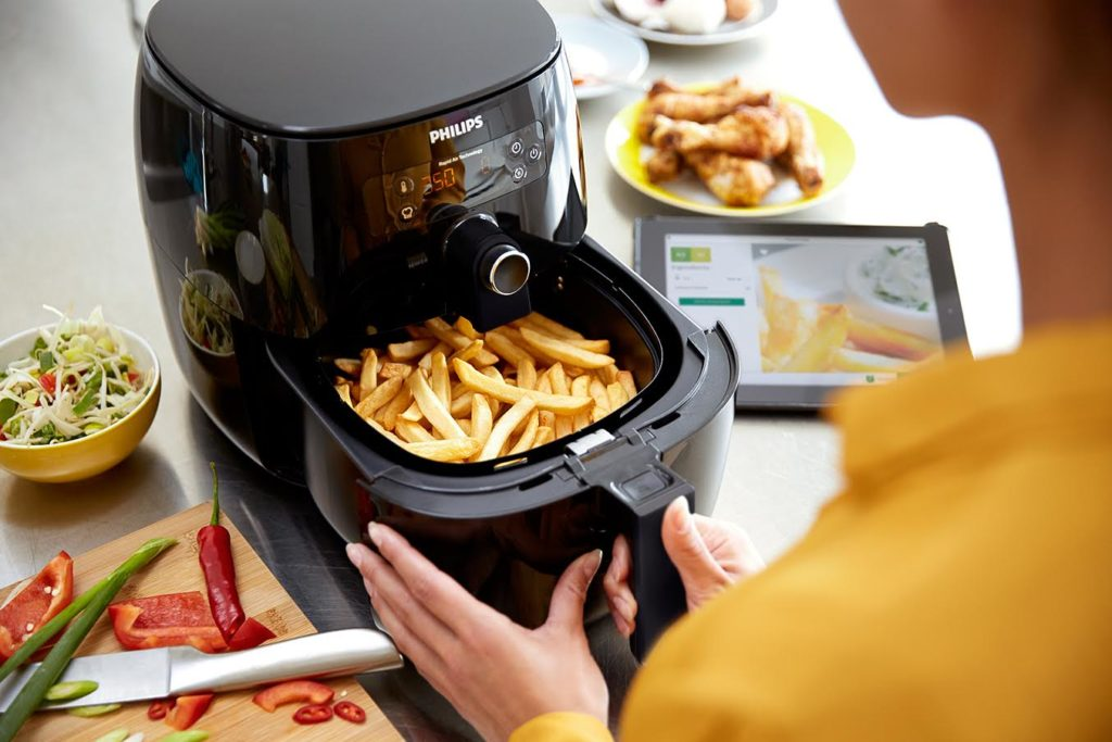 tiTight shot of Philips Airfryer, whic