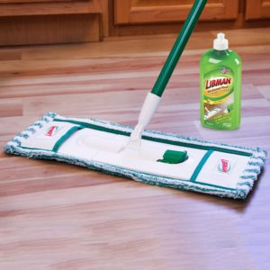 Tight shot of Libman wet-dry mop
