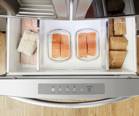 food waste, temperature of fridge, kitchen shortcuts celebrity chef LG
